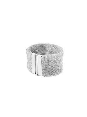 Double Essence bracelet silver