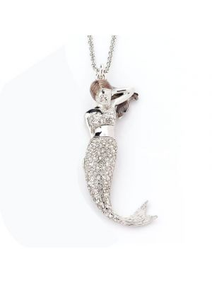 Le Sirene Necklace White Strass