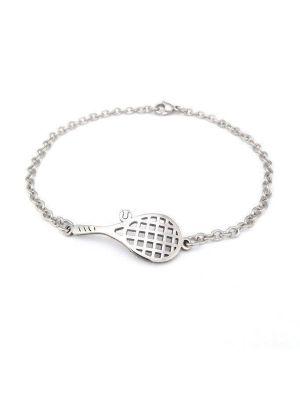 Bracelet tennis racket