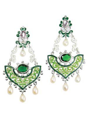 Turkish Ornamental Earrings