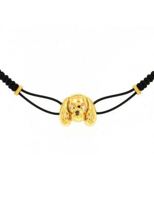 Gold 18kt Cavalier bracelet