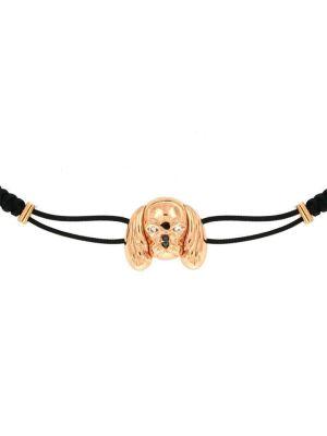Pink gold 9kt Cavalier bracelet