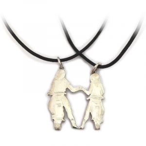 Pendant motorcyclists