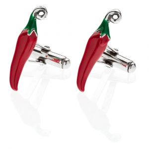 Hot Chili Pepper Cufflinks